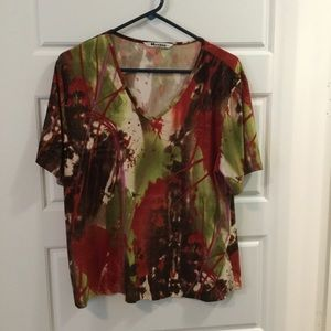 Nygard Collection Women's Size 1X Top